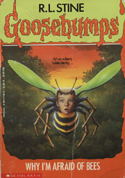 a summary of why i am afraid of bees by rl stine Buy why i'm afraid of bees (goosebumps (unnumbered paperback)) reissue by rl stine (isbn: 9780439693547) from amazon's book store everyday low prices and free delivery on eligible orders.